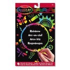 Melissa & Doug . M&D Rainbow Scratch Art Kit