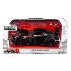 Jada Toys . JAD 1/24 JDM Tuners Metal Die Cast  Nissan 350Z Glossy Black