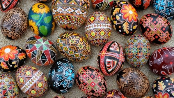 Just in time for Easter! - Ukrainian Easter Eggs