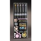 Chameleon . CHM Color Tones - Pastel 5 Pens