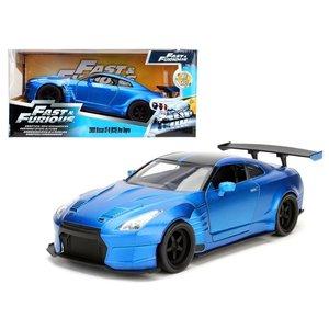 Jada Toys . JAD 1/24 F/F 2009 Brian's Gtr Blue