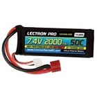 Common Sense R/C . CSR Lectron Pro 7.4V 2000MAH 50C With Deans