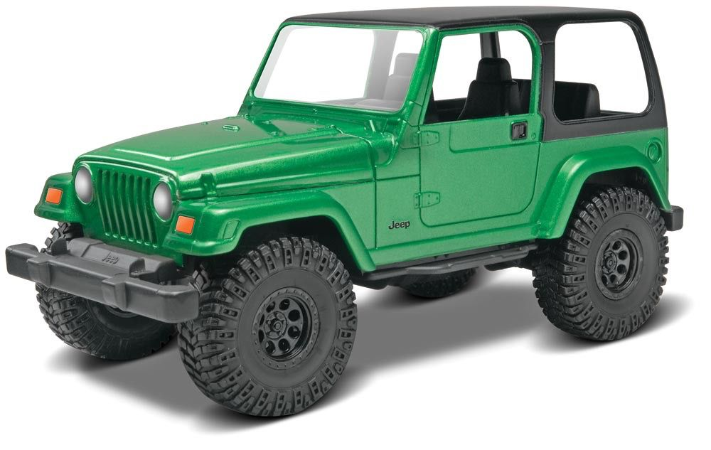 Revell Monogram   RMX 1/25 Jeep® Wrangler Rubicon Model Kit