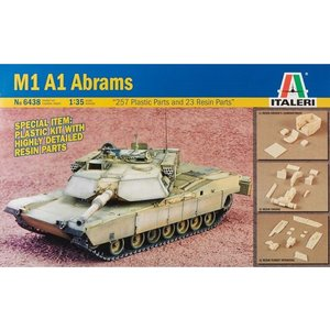 Italeri . ITA 1/35 M1 A1 Abrams Tank