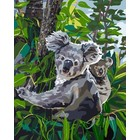 "Plaid (crafts) . PLD Koala Reign Paint by Number (16""x20"")"