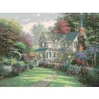 "Plaid (crafts) . PLD Victorian Garden II Paint by Number (20""x16"")"