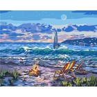 Plaid (crafts) . PLD (disc)-Beach Moonlit Night