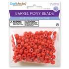 MultiCraft . MCI Red Barrel Pony Beads