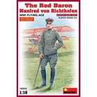 Miniart . MNA 1/16 The Red Baron Manfred Von Richthofen WWI Flying Ace