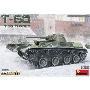 Miniart . MNA 1/35 T-60 (T-30 Turret) Interior Kit