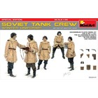Miniart . MNA 1/35 Soviet Tank Crew (Winter Uniforms) Special Edition