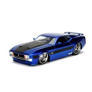 Jada Toys . JAD 1/24 1973 Ford Mustang Mach 1 - Blue