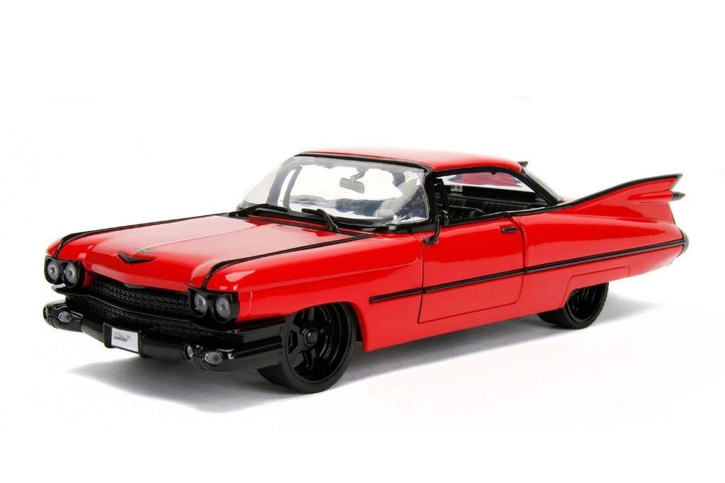 Jada Toys Jad 1 24 1959 Cadillac Deville Red Pm Hobbycraft