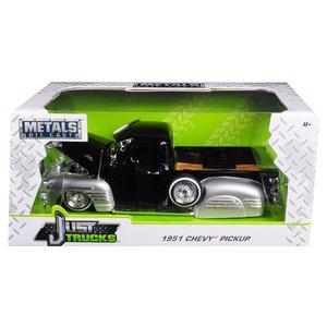 Jada Toys . JAD 1/24 1951 Chevy Pickup - Glossy Black