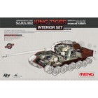 Meng . MEG 1/35 Sd.Kfz.182 King Tiger Interior Set Porsche Turret
