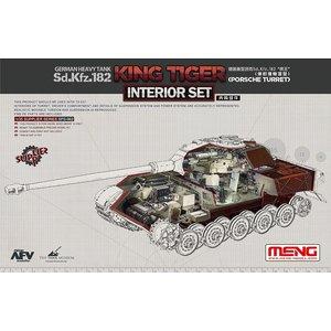 Meng . MEG 1/35 Sd.Kfz.182 King Tiger Interior Set Porsche Turret