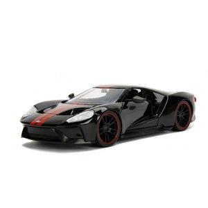 Jada Toys . JAD 2017 Ford GT Gloss Black