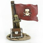 Midwest Design . MWD Fairy Garden Pirate Flag