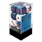 Chessex . CHX Gemini: 12D6 Astral Blue-White / Red
