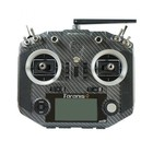 FrSky . FRS Frsky QX7 transmitter w/ M7 gimbals, battery and R9M module - carbon colour