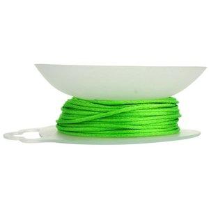 John Bead Corporation . JBC Rattail Cord 1.5 mm 20 Yds Grass Green