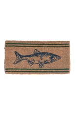 Fish Doormat Natural Coir