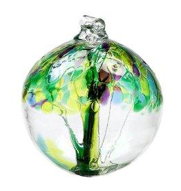 Kitras Art Glass Tree of Spring Glass Ornament