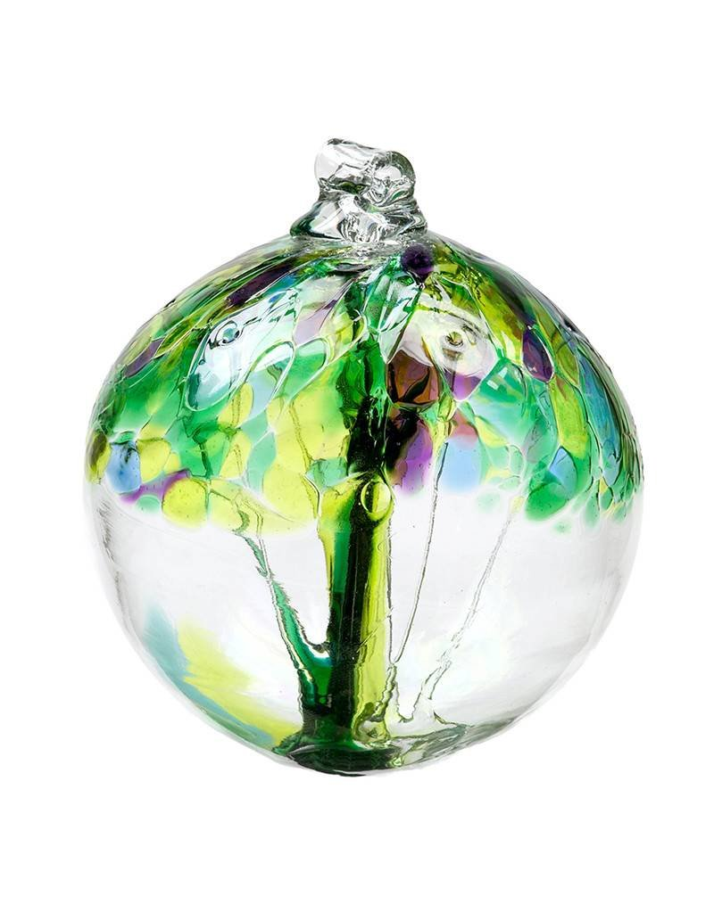 Tree of Spring Glass Ornament