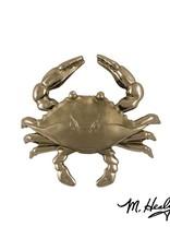 Michael Healy Designs Blue Crab Door Knocker