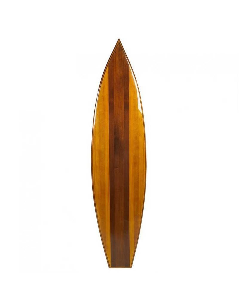 Classic Wooden Surfboard