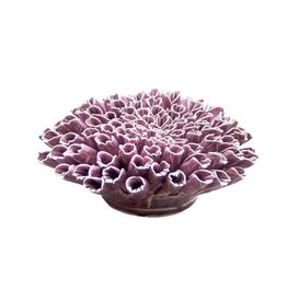 Chive Anemone Purple Coral Ceramic Flower
