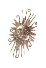 Soaring Sun Metal Wall Art
