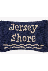 Jersey Shore Hand Hooked Pillow
