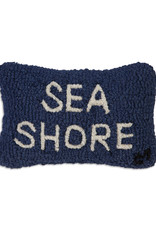 Sea Shore Hand Hooked Pillow