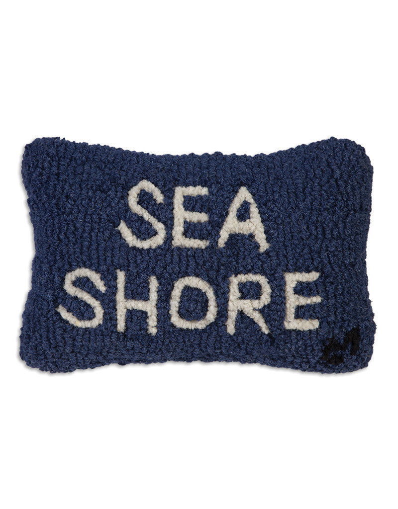 Chandlers 4 Corners Sea Shore Hand Hooked Pillow