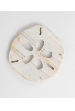 Grace Graffitti Beadboard Sand Dollar Coasters