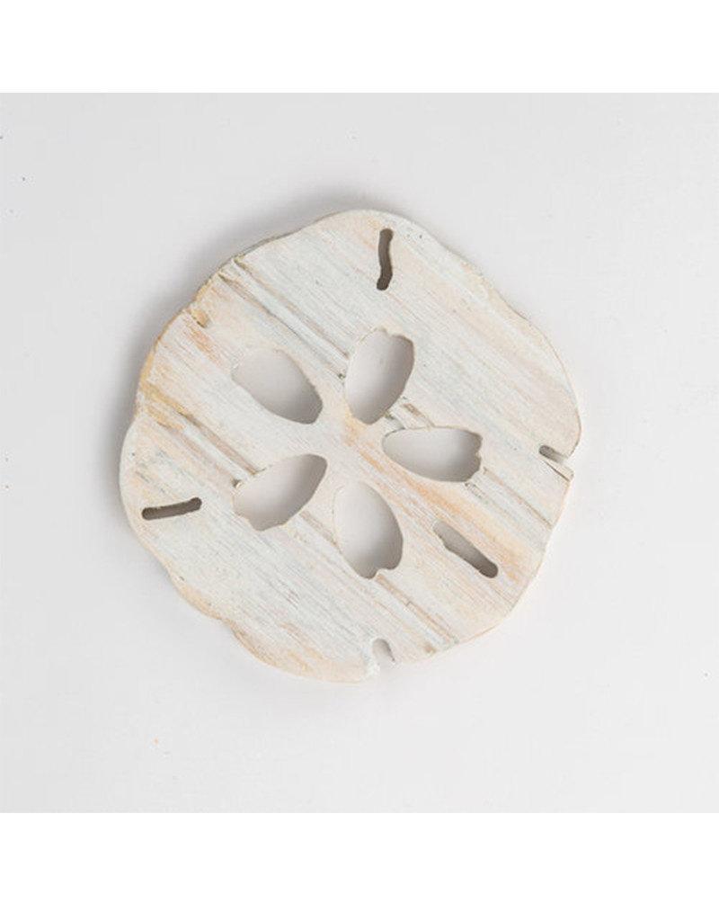 Beadboard Sand Dollar Coasters