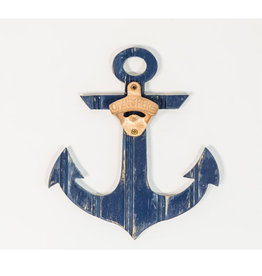 Grace Graffitti Beadboard Anchor Bottle Opener