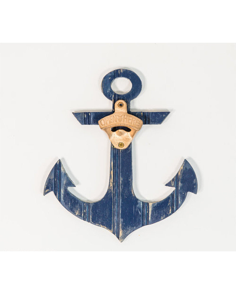 Beadboard Anchor Bottle Opener