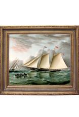 Schooner Mohawk off Sandy Hook Painting