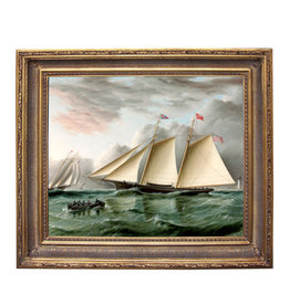 Schooner Mohawk off Sandy Hook Painting