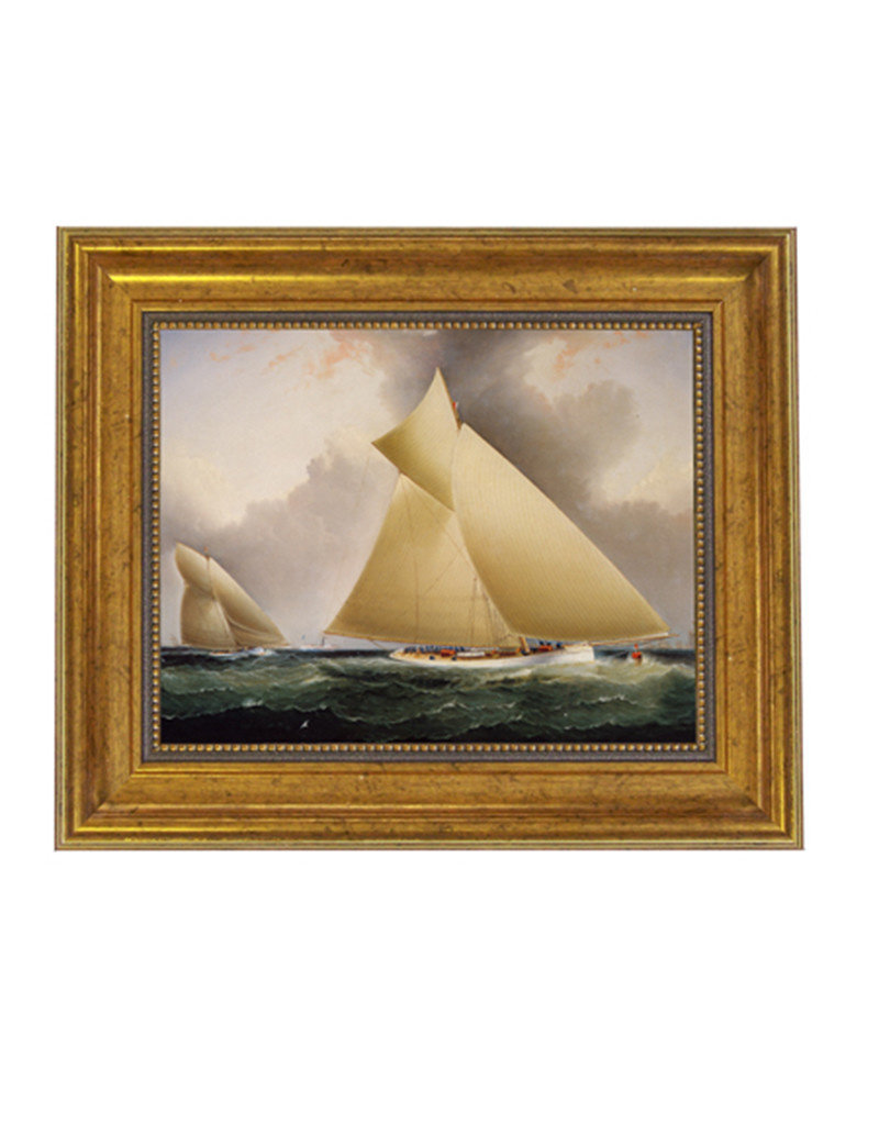 Mayflower Leading Galatea Painting