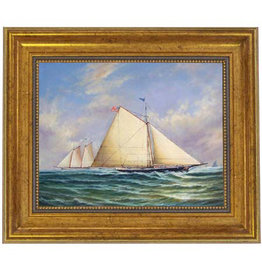 Sloop Maria Racing America Painting