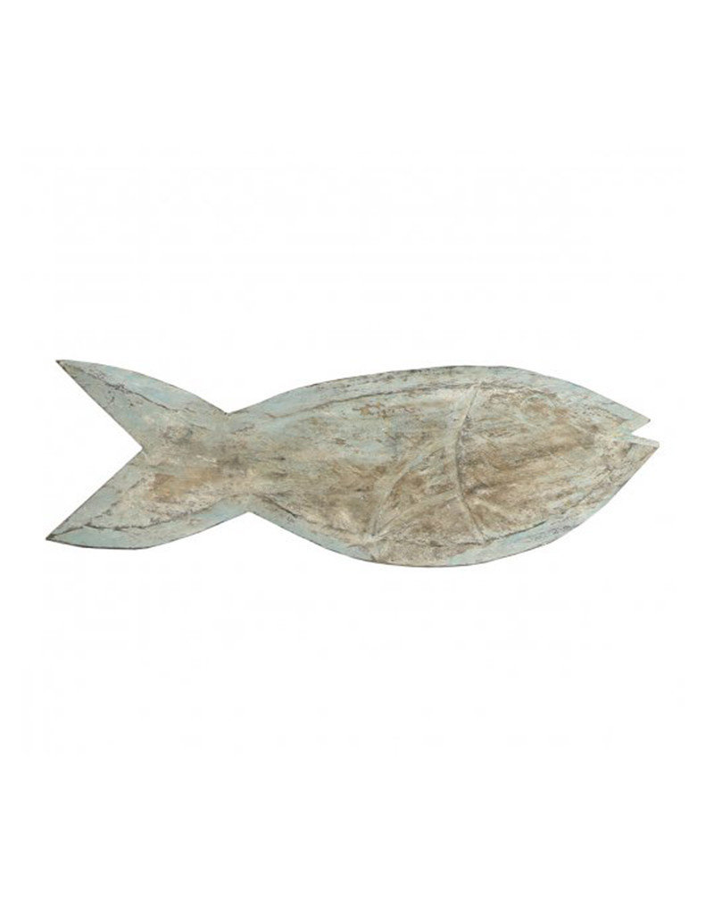 Indonesian Carved Wood Fish