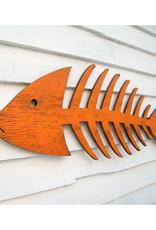 Wooden Fish Skeleton