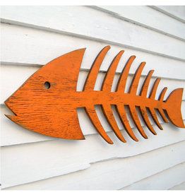Wooden Fish Skeleton
