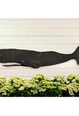 Wooden Whale Folk Art