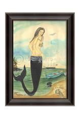 I've Been Spotted Mermaid Framed Print