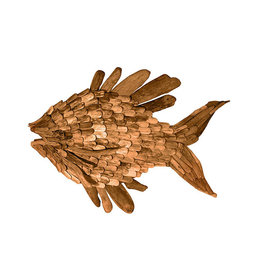 Large Driftwood Angel Fish