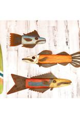 Wooden and Metal Barracuda